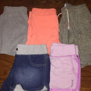 Other - Lot of 5 Girls Shorts - All fit like size 8